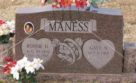 MANESS, RONNIE H. - Lonoke County, Arkansas | RONNIE H. MANESS - Arkansas Gravestone Photos