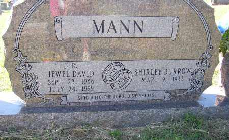 MANN, JEWEL DAVID - Lonoke County, Arkansas | JEWEL DAVID MANN - Arkansas Gravestone Photos