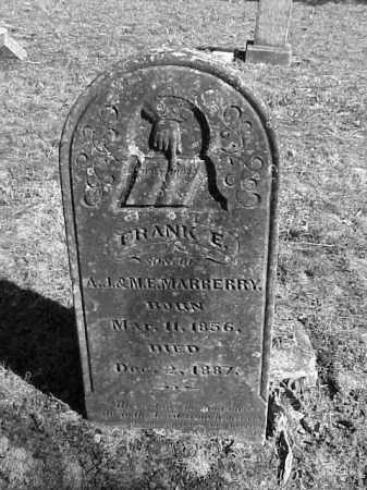 MARBERRY, FRANCIS E. 'FRANK' - Lonoke County, Arkansas | FRANCIS E. 'FRANK' MARBERRY - Arkansas Gravestone Photos