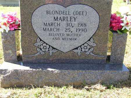 MARLEY, BLONDELL (DEE) - Lonoke County, Arkansas | BLONDELL (DEE) MARLEY - Arkansas Gravestone Photos