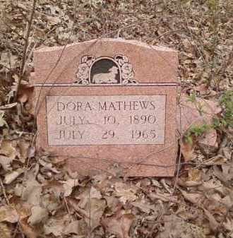 MATHEWS, DORA - Lonoke County, Arkansas | DORA MATHEWS - Arkansas Gravestone Photos