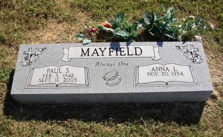 MAYFIELD, ANNA L. - Lonoke County, Arkansas | ANNA L. MAYFIELD - Arkansas Gravestone Photos