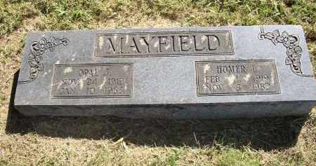 MAYFIELD, HOMER L. - Lonoke County, Arkansas | HOMER L. MAYFIELD - Arkansas Gravestone Photos
