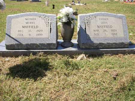 MAYFIELD, LEON - Lonoke County, Arkansas   LEON MAYFIELD - Arkansas Gravestone Photos