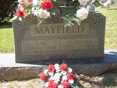 MAYFIELD, LOUVINA - Lonoke County, Arkansas | LOUVINA MAYFIELD - Arkansas Gravestone Photos