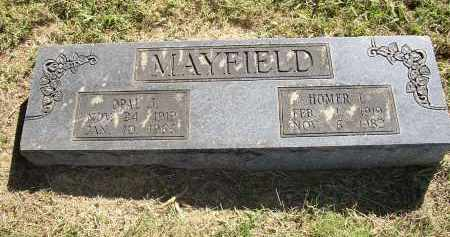 MAYFIELD, OPAL J. - Lonoke County, Arkansas | OPAL J. MAYFIELD - Arkansas Gravestone Photos