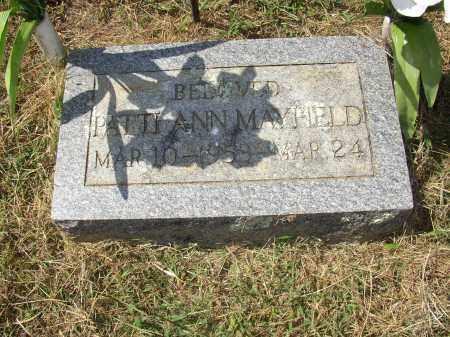 MAYFIELD, PATTI ANN - Lonoke County, Arkansas | PATTI ANN MAYFIELD - Arkansas Gravestone Photos