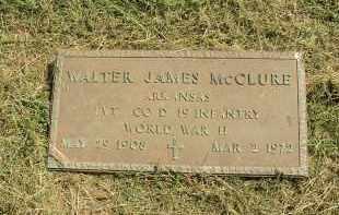 MCCLURE  (VETERAN WWII), WALTER JAMES - Lonoke County, Arkansas | WALTER JAMES MCCLURE  (VETERAN WWII) - Arkansas Gravestone Photos