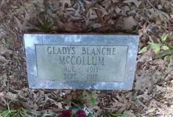 MCCOLLUM, GLADYS BLANCHE - Lonoke County, Arkansas | GLADYS BLANCHE MCCOLLUM - Arkansas Gravestone Photos