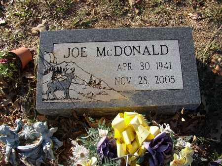 MCDONALD, JOE - Lonoke County, Arkansas | JOE MCDONALD - Arkansas Gravestone Photos