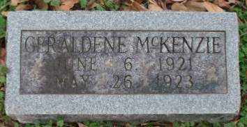 MCKENZIE, GERALDINE - Lonoke County, Arkansas | GERALDINE MCKENZIE - Arkansas Gravestone Photos