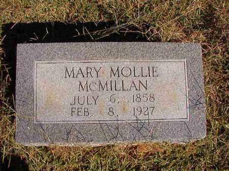 MCMILLAN, MARY MOLLIE - Lonoke County, Arkansas | MARY MOLLIE MCMILLAN - Arkansas Gravestone Photos