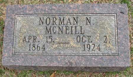 MCNEILL, NORMAN N. - Lonoke County, Arkansas | NORMAN N. MCNEILL - Arkansas Gravestone Photos