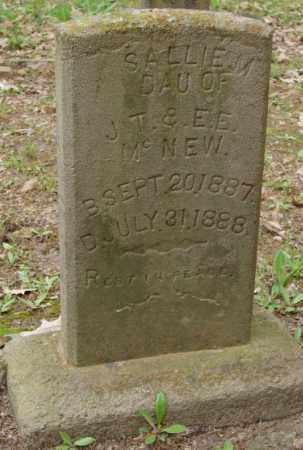 MCNEW, SALLIE M. - Lonoke County, Arkansas   SALLIE M. MCNEW - Arkansas Gravestone Photos