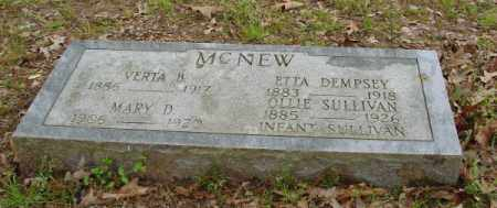 MCNEW, VERTA B. - Lonoke County, Arkansas | VERTA B. MCNEW - Arkansas Gravestone Photos