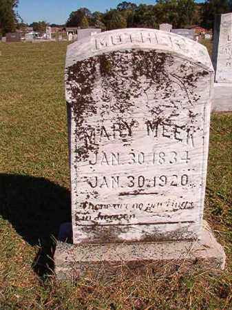 MEEK, MARY - Lonoke County, Arkansas | MARY MEEK - Arkansas Gravestone Photos
