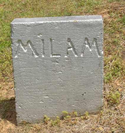 MILAM, #1 - Lonoke County, Arkansas | #1 MILAM - Arkansas Gravestone Photos