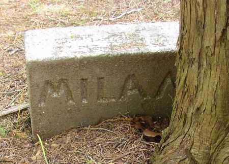 MILAM, #7 - Lonoke County, Arkansas | #7 MILAM - Arkansas Gravestone Photos