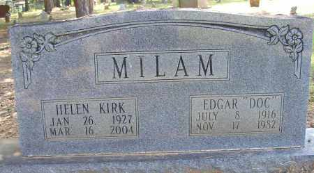 "MILAM (VETERAN), EDGAR ""DOC"" - Lonoke County, Arkansas 
