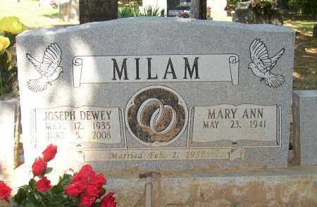 MILAM, JOSEPH DEWEY - Lonoke County, Arkansas | JOSEPH DEWEY MILAM - Arkansas Gravestone Photos