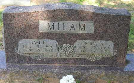 MILAM, ELMA A. - Lonoke County, Arkansas | ELMA A. MILAM - Arkansas Gravestone Photos