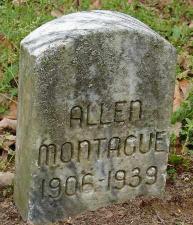 MONTAGUE, ALLEN - Lonoke County, Arkansas | ALLEN MONTAGUE - Arkansas Gravestone Photos