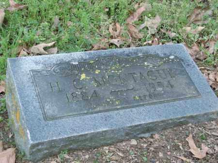 MONTAGUE, HENRY CLAY - Lonoke County, Arkansas | HENRY CLAY MONTAGUE - Arkansas Gravestone Photos