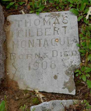 MONTAGUE, THOMAS GILBERT - Lonoke County, Arkansas | THOMAS GILBERT MONTAGUE - Arkansas Gravestone Photos