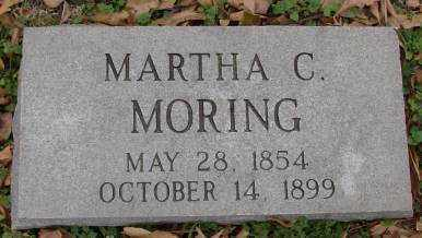 MORING, MARTHA C - Lonoke County, Arkansas | MARTHA C MORING - Arkansas Gravestone Photos