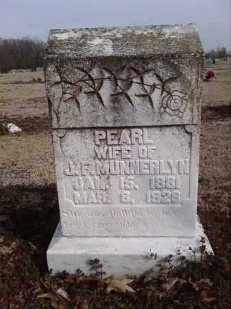 MUNNERLYN, PEARL - Lonoke County, Arkansas | PEARL MUNNERLYN - Arkansas Gravestone Photos