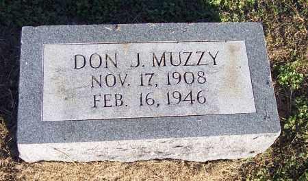 MUZZY, DON J - Lonoke County, Arkansas | DON J MUZZY - Arkansas Gravestone Photos