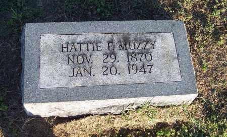 MUZZY, HATTIE F - Lonoke County, Arkansas | HATTIE F MUZZY - Arkansas Gravestone Photos