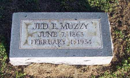 MUZZY, JED E - Lonoke County, Arkansas | JED E MUZZY - Arkansas Gravestone Photos