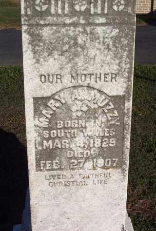 MUZZY, MARY A - Lonoke County, Arkansas | MARY A MUZZY - Arkansas Gravestone Photos