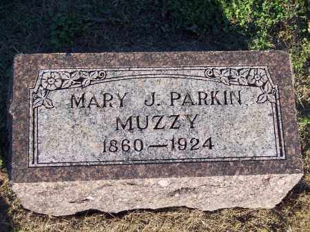 PARKIN MUZZY, MARY J - Lonoke County, Arkansas | MARY J PARKIN MUZZY - Arkansas Gravestone Photos