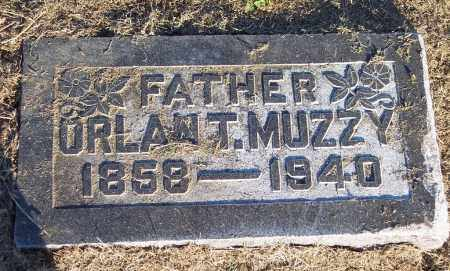 MUZZY, ORLAN T - Lonoke County, Arkansas | ORLAN T MUZZY - Arkansas Gravestone Photos