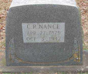 NANCE, C R - Lonoke County, Arkansas | C R NANCE - Arkansas Gravestone Photos