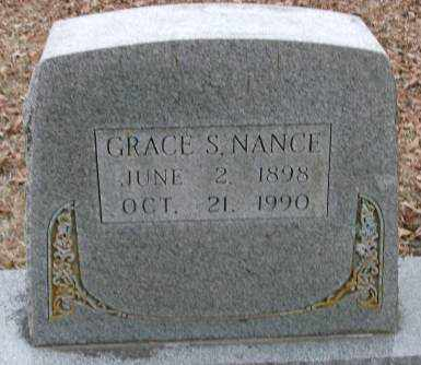 NANCE, GRACE S - Lonoke County, Arkansas | GRACE S NANCE - Arkansas Gravestone Photos
