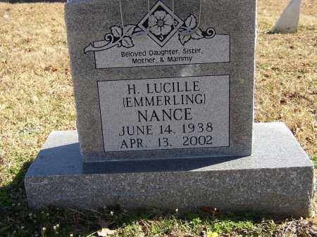 NANCE, H. LUCILLE - Lonoke County, Arkansas | H. LUCILLE NANCE - Arkansas Gravestone Photos