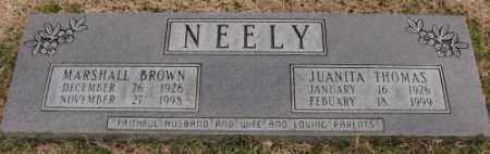 THOMAS NEELY, JUANITA - Lonoke County, Arkansas | JUANITA THOMAS NEELY - Arkansas Gravestone Photos