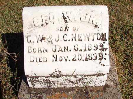 NEWTON, JR, GEO. W. - Lonoke County, Arkansas | GEO. W. NEWTON, JR - Arkansas Gravestone Photos