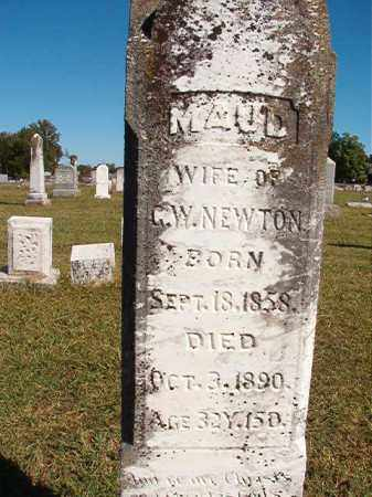 NEWTON, MAUD - Lonoke County, Arkansas | MAUD NEWTON - Arkansas Gravestone Photos