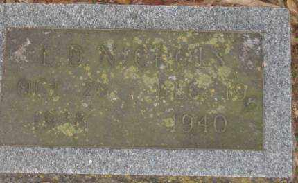 NICHOLS, L D - Lonoke County, Arkansas | L D NICHOLS - Arkansas Gravestone Photos