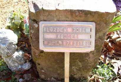 NOLLEY, LORDEN RAYE - Lonoke County, Arkansas | LORDEN RAYE NOLLEY - Arkansas Gravestone Photos