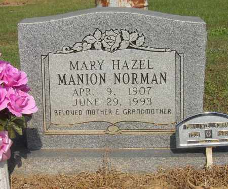 MANION NORMAN, MARY HAZEL - Lonoke County, Arkansas | MARY HAZEL MANION NORMAN - Arkansas Gravestone Photos