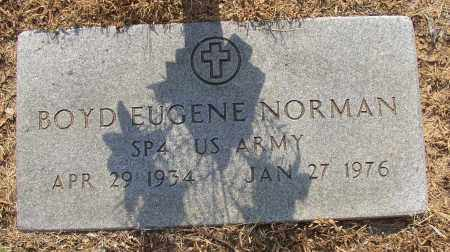 NORMAN (VETERAN), BOYD EUGENE - Lonoke County, Arkansas | BOYD EUGENE NORMAN (VETERAN) - Arkansas Gravestone Photos