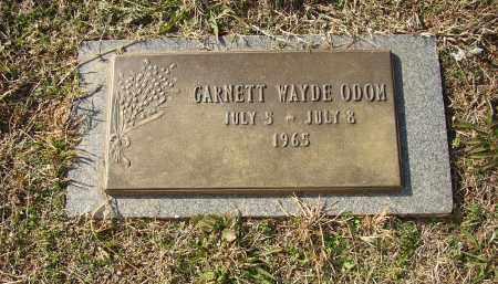 ODOM, GARNETT WAYDE - Lonoke County, Arkansas | GARNETT WAYDE ODOM - Arkansas Gravestone Photos
