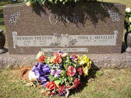 ODOM, HERMAN PRESTON - Lonoke County, Arkansas | HERMAN PRESTON ODOM - Arkansas Gravestone Photos