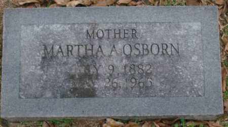 OSBORN, MARTHA A - Lonoke County, Arkansas | MARTHA A OSBORN - Arkansas Gravestone Photos