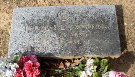 OVERTON (VETERAN WWII), THOMAS L - Lonoke County, Arkansas | THOMAS L OVERTON (VETERAN WWII) - Arkansas Gravestone Photos